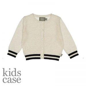 Kidscase babykleding cardigan vestje wit