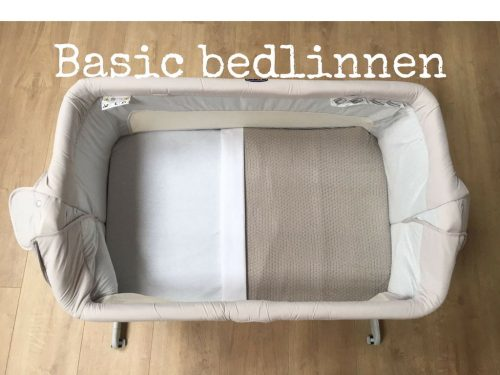 Basic bedlinnen Jollein Chicco Next 2 Me Dream legend goedkoop te huur bij cribster