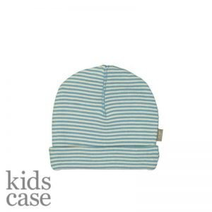 Blauw mutsje kidscase newborn babykleding