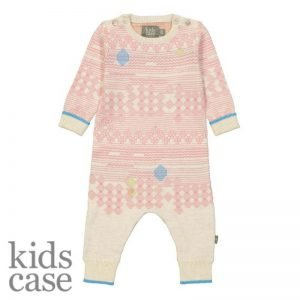 Kidscase onesie roze babykleding