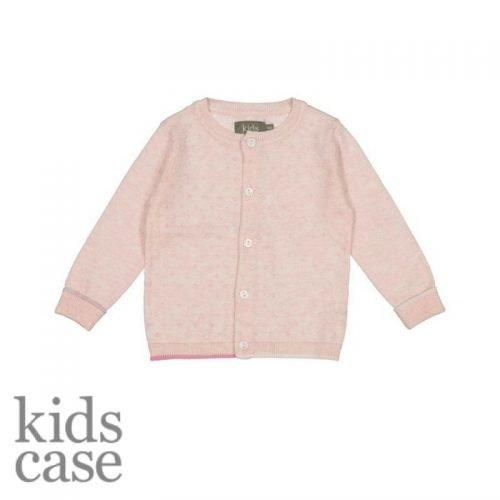 Kidscase merk babykleding roze vestje