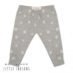 Legging little indians kleertjes duurzaam sterren grijs