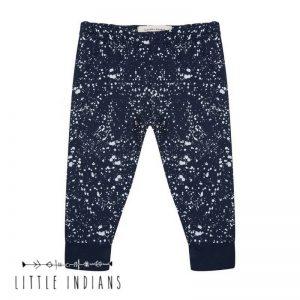 Little indians legging splash broekje babykleertjes blauw