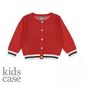 Kidscase babykleding cardigan vestje rood