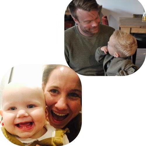 Oprichter Cribster wieg huren en babykleding met baby en kind