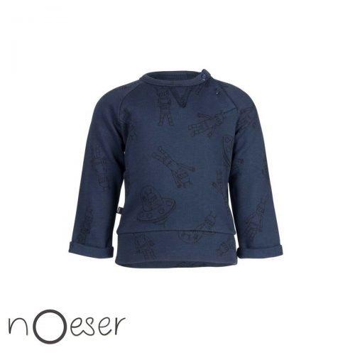 Helly sweater alien trui nOeser babykleding blauw