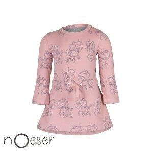 Jurkje nOeser Else dress poodle pink roze jurkje babykleding
