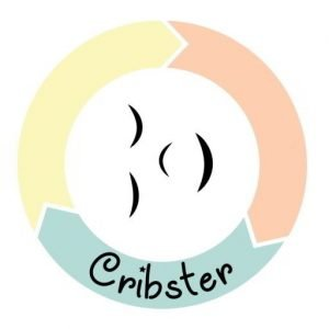 Logo Cribster wieg huren en babykleding bibliotheek