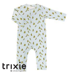Trixie organische babykleertjes onesie bananen babykleding merk
