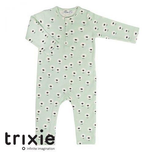 Trixie schattige babykleertjes onesie schaap sheep