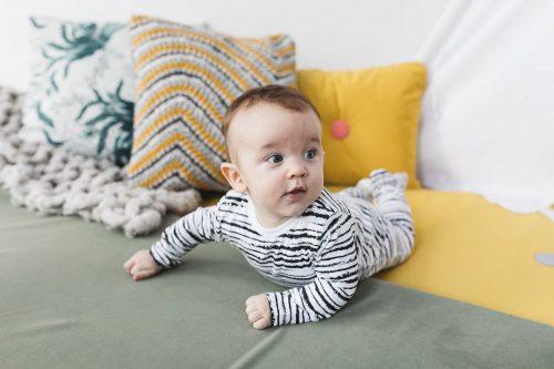 nOeser babykleding onesie baby kleertjes stripe