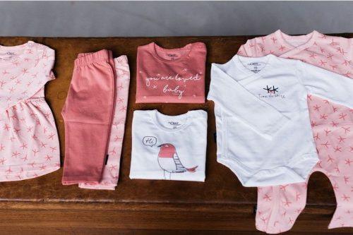 nOeser babykleding babykleertjes newborn setjes roze