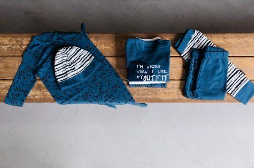 nOeser leuke babykleding blauw baby setjes