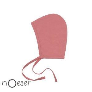nOeser babykleding cap bonnet pink roze mutsje