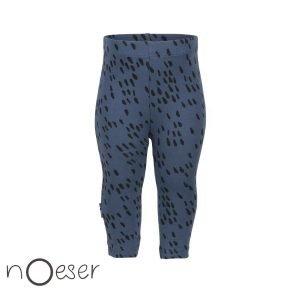 nOeser babykleding legging sprinkle blauw