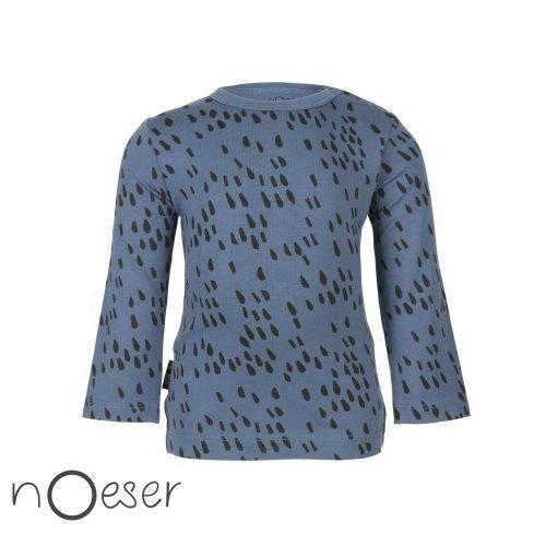 nOeser babykleding t-shirt sprinkle blauw