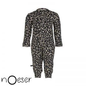onesie jumper suit zwart noeser kleertjes organic GOTS