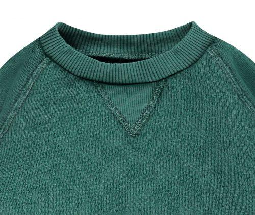 Imps Elfs organic babykleding trui sweater groen organic