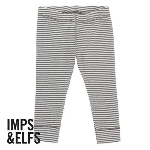 Imps Elfs organic babykleding legging gestreept