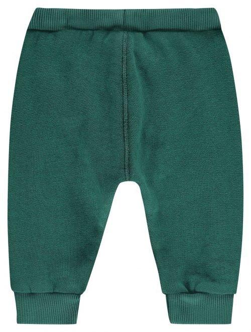 Imps Elfs organic babykleding sweat pants joggingbroek groen achterkant
