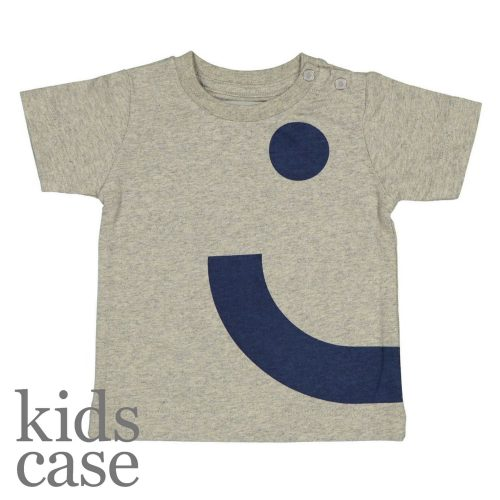 Kidscase babykleding Nick Alf Organic smile t-shirt rechts voorkant