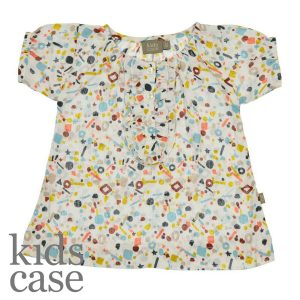 Kidscase babykleding cherry dress jurkje organic