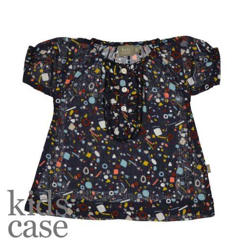 Kidscase babykleding kate dress jurkje blauw