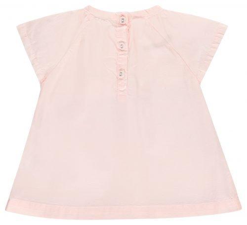 IMPS Elfs jurkje roze organische babykleding acherkant