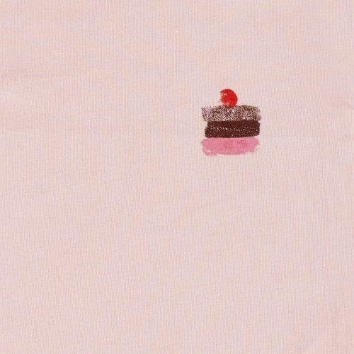 IMPS Elfs short rompertje roze pink organische babykleding ingezoomd