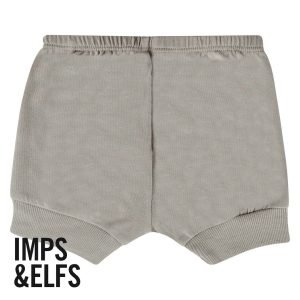 IMPS ELFS short kort Broekje grijs organische babykleding