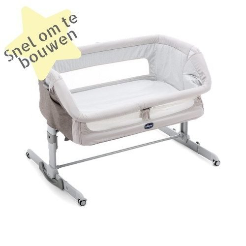Chicco Next 2 Me Dream Legend co-sleeper makkelijk om te bouwen
