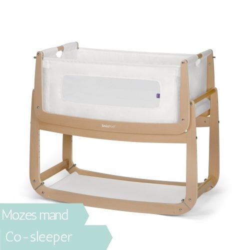 Snüzpod co-sleeper natural houtkleur wieg Snüz