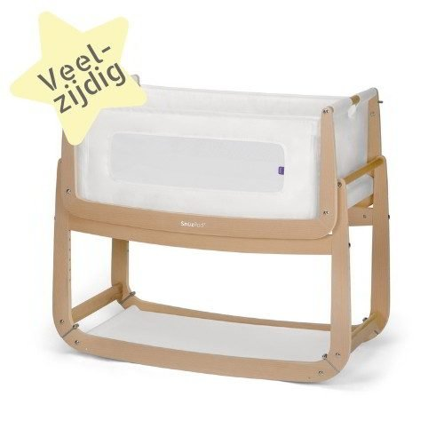 Snuzpod 3 co-sleeper houtkleurig natural wieg huren